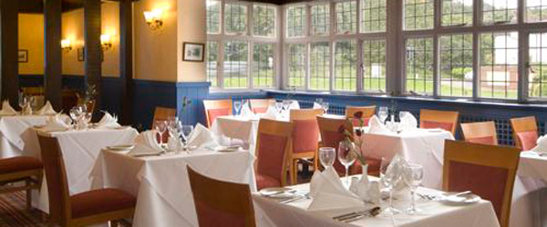 The Turpins Restaurant at The Bell Hotel in Epping near london