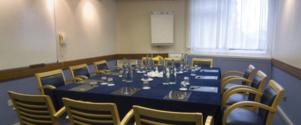 conference and meeting room at the bell hotel in epping near london