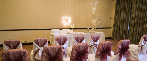 wedding suite for civil wedding at the bell hotel epping essex
